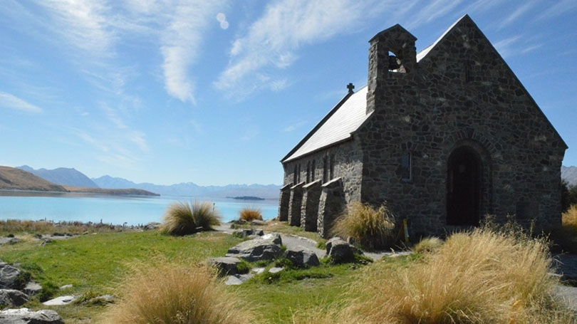 A church in New Zealand.
