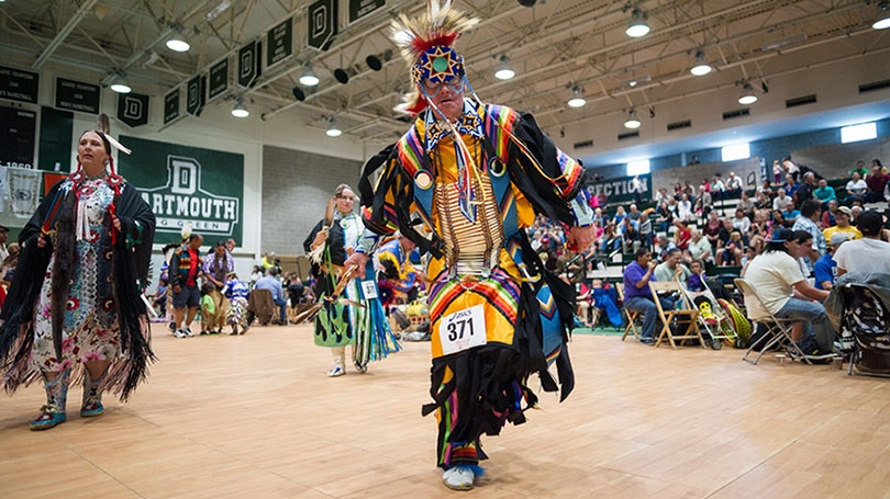 The symposium is part of the celebration of the 40th anniversary of the establishment of Dartmouth's Native American Studies Program. (Photo by Eli Burakian '00)