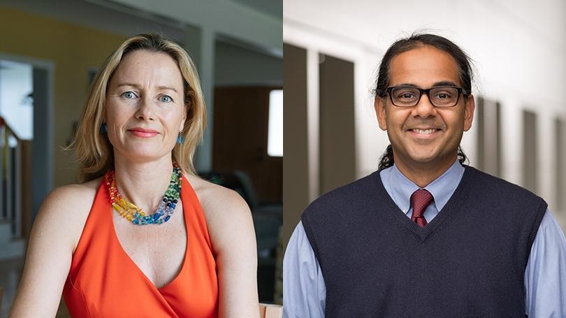 Associate Professor Sienna Craig and Assistant Professor Manish Mishra teach a course on rites of passage.