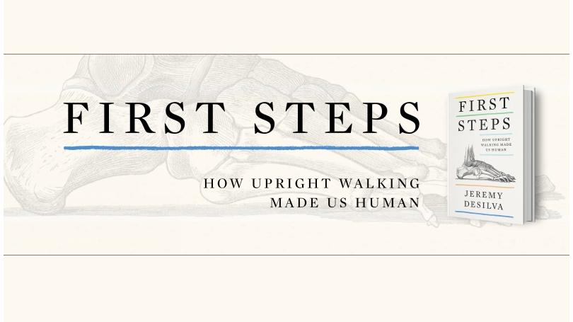 Jeremy DeSilva: First Steps Book Cover