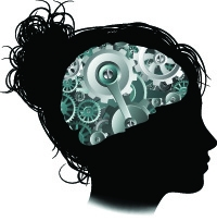 Woman Brain Graphic - Modified Anthropology Major